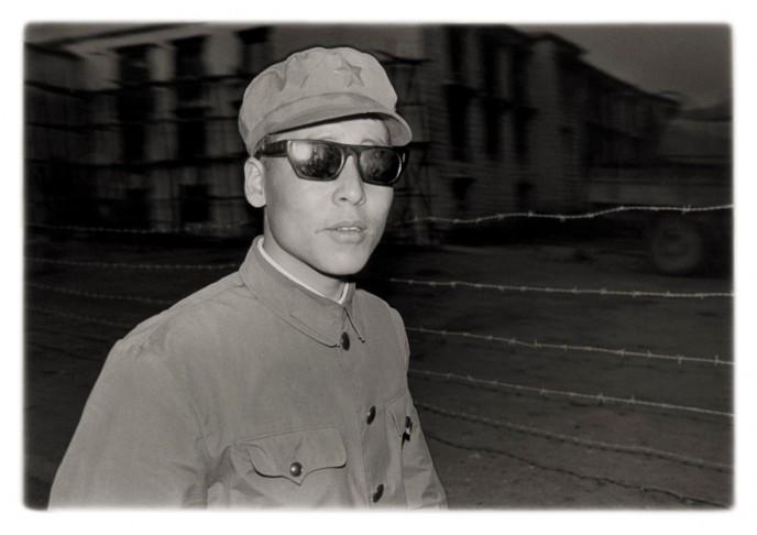 Soldier, Lhasa, Tibet '81