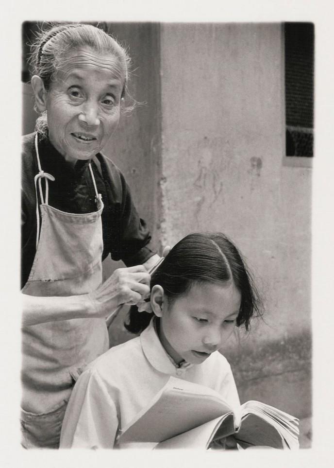 Combing, 1981, Shanghai